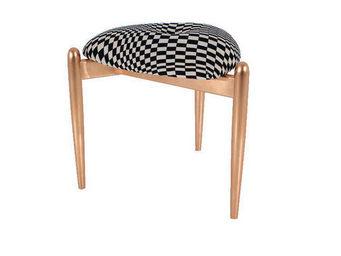 UMOS design - faney/copper 112674 - Footstool