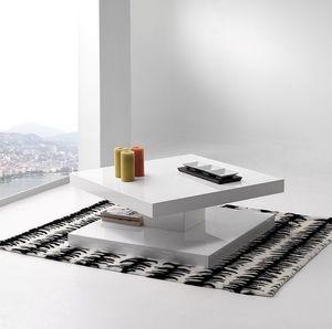 Casa - table basse design - Table Basse Carrée