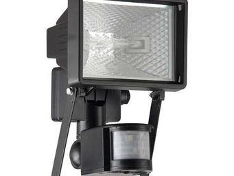 Brilliant - tanko - applique extérieure avec détecteur noir h2 - Projecteur D'extérieur