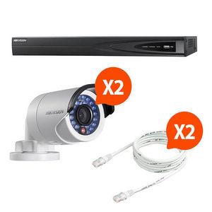 CFP SECURITE - kit video surveillance hikvision 2 caméras n°4 - Camera De Surveillance