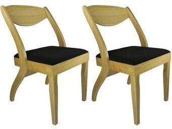 MyCreationDesign - alaska frene - lot de 2 - Chaise