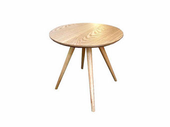 MyCreationDesign - mini sienne naturel - Table Basse Ronde
