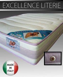 WHITE LABEL - matelas 160 * 190 cm excellence literie, épaisseur - Matelas En Mousse