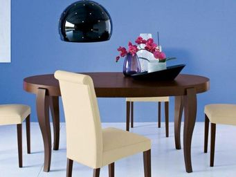 Calligaris - table repas extensible ovale regency de calligaris - Table De Repas Ronde