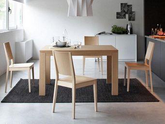 Calligaris - table repas extensible vero de calligaris 130x90 s - Table De Repas Rectangulaire