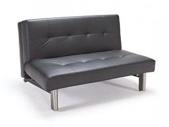INNOVATION - tjaze canapé design noir convertible lit - Fauteuil