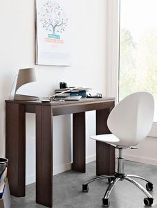 Calligaris - console extensible mistery 90 x 49 cm de calligari - Console