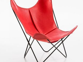 Airborne - buffalo rouge - Fauteuil