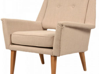 MyCreationDesign - clapton beige - Fauteuil Crapaud