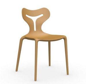 Calligaris - chaise empilable area 51 de calligaris jaune mouta - Chaise