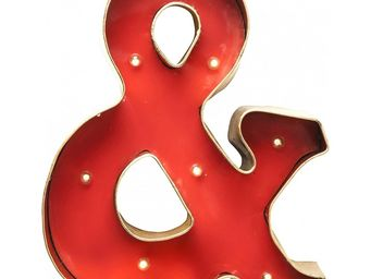 Kare Design - applique mural & rouge et dor�e - Applique