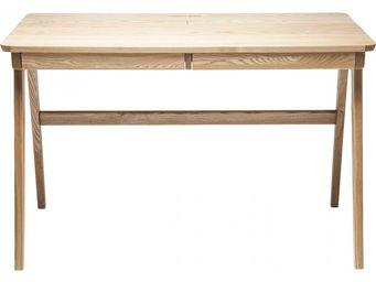 Kare Design - bureau en bois bosco 120x70 cm - Bureau