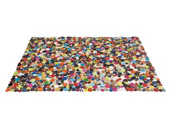 Kare Design - tapis carré circle multi 170x240 - Tapis Contemporain
