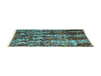 Kare Design - tapis design fantasia light blue 170x240cm - Tapis Contemporain