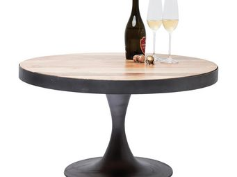 Kare Design - table basse ronde connection 80 cm - Table Basse Ronde