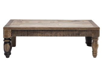 Kare Design - table basse en bois duld range 120x60 cm - Table Basse Rectangulaire