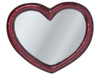 Kare Design - miroir mosaik heart 100x123cm - Miroir