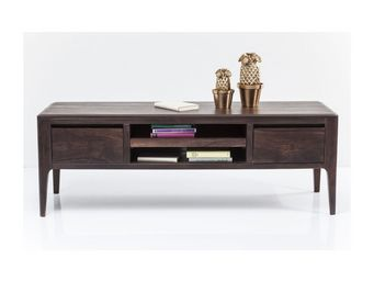 Kare Design - meuble tv brooklyn walnut - Meuble Tv Hi Fi