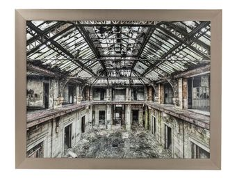 Kare Design - tableau old factory 139x179 cm - Tableau Décoratif