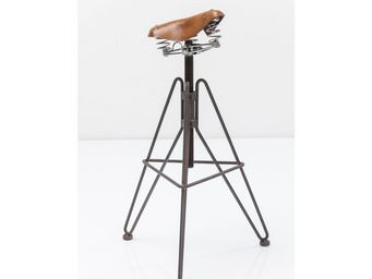 Kare Design - tabouret de bar saddle - Tabouret De Bar