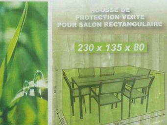 Imagin - housse de protection pour salon rectangulaire colo - Housse De Protection Mobilier De Jardin