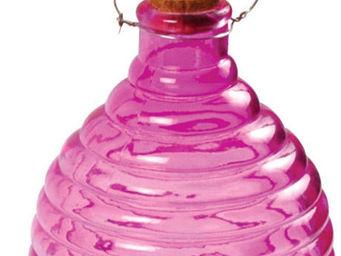 Esschert Design - piège à guêpes coloré fuchsia - Attrape Guêpes