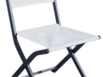 WILSA GARDEN - chaise pliante modulo (lot de 2) blanc - Chaise De Jardin Pliante
