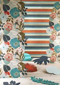 HARLEQUIN - bella stripe, doyenne - Papier Peint