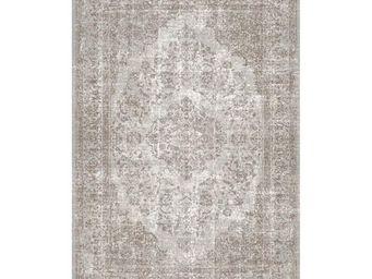 WHITE LABEL - tapis sable 340 x 240 cm - oriental - l 340 x l 24 - Tapis Contemporain