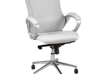 WHITE LABEL - chaise de bureau grise - tweet - l 67 x l 45 x h 1 - Fauteuil De Bureau