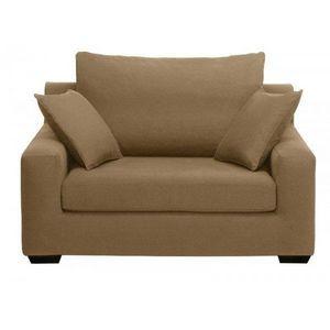 Home Spirit - fauteuil lit convertible manhattan tissu microfibr - Fauteuil Lit
