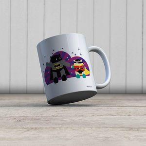la Magie dans l'Image - mug héros batman - Mug