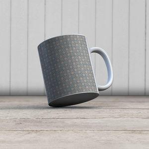 la Magie dans l'Image - mug trèfle vert-de-gris beige - Mug