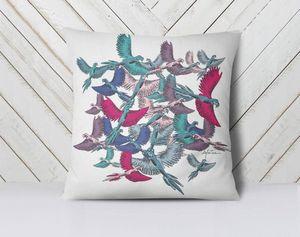 la Magie dans l'Image - coussin oiseaux - Coussin Carré