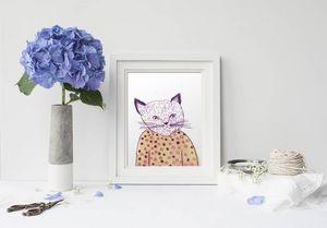 la Magie dans l'Image - print art mon petit chat - Poster