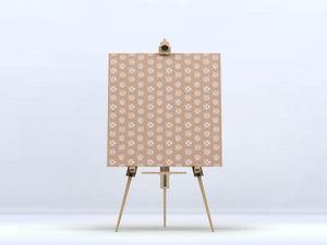 la Magie dans l'Image - toile lotus beige foncé beige - Impression Numérique Sur Toile
