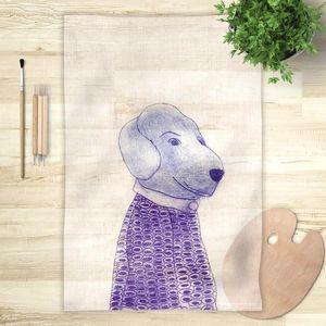 la Magie dans l'Image - foulard mon petit chien - Foulard Carré