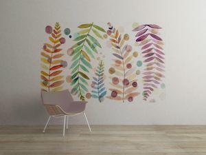 la Magie dans l'Image - grande fresque murale feuilles - Papier Peint Panoramique