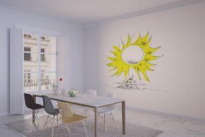 la Magie dans l'Image - grande fresque murale soleil - Papier Peint Panoramique