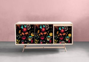 la Magie dans l'Image - adhésif happy flowers - Sticker