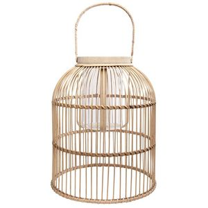 MAISONS DU MONDE - lanterne en osier sak - Lanterne D'intérieur