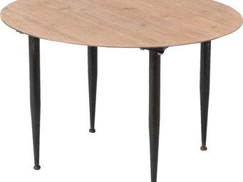 Amadeus - table de repas ronde en bois de sapin - Table De Repas Ronde