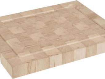 CHABRET - planche à decouper en bois de bout - Billot De Cuisine