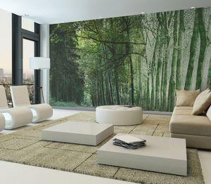 IN CREATION - forêt wild 4- - Papier Peint Panoramique