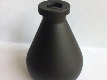 Drake - vase diffuseur de parfum noir - Vase À Fleurs