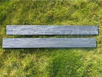 CLASSGARDEN - bordure piquet d'ardoise scie 0.5 mètre - pack de - Bordure De Jardin