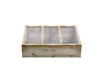 CEMONJARDIN - serre chassis en bois vérone - Serre Potager