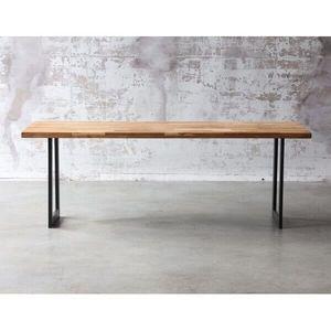 Mathi Design - table de repas atelier au style industriel - Table De Repas Rectangulaire