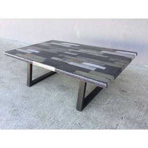 Mathi Design - table basse bronx - Table Basse Rectangulaire