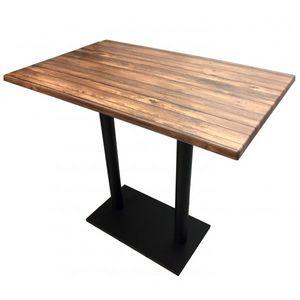 Mathi Design - table haute oakland - Mange Debout